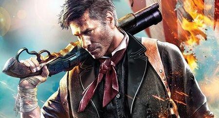 En la brillante portada de 'BioShock Infinite' nosotros seremos los protagonistas. Bueno, Booker DeWitt, prota que encarnamos