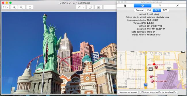 Elimina la información GPS de tus fotos de una manera sencilla desde Vista Previa en Mac
