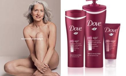 Dove presenta en España Pro-Age