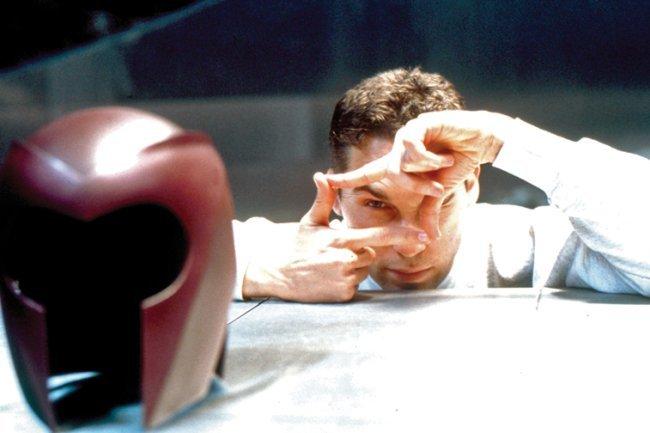 Bryan Singer durante el rodaje de X-Men