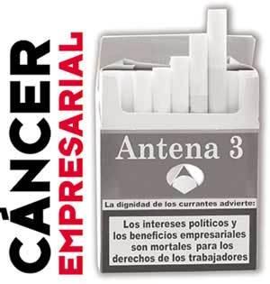 Huelga en Antena 3