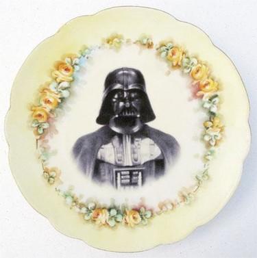 Una vajilla de Star Wars