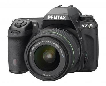Pentax K-7 presentada oficialmente