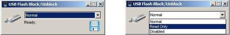 USBFlashBlockUnblock, control de los puertos USB con dispositivos de almacenamiento flash