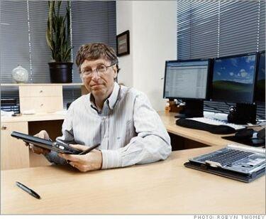 Los gadgets de Bill Gates