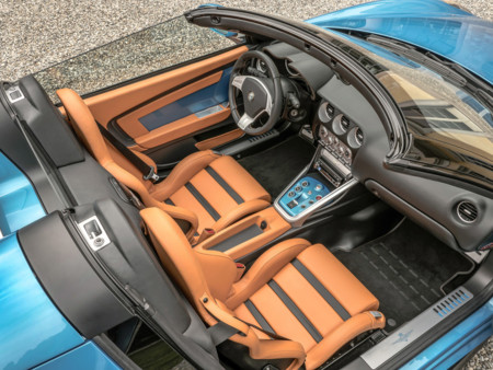 Alfa Romeo Disco Volante Spyder interior