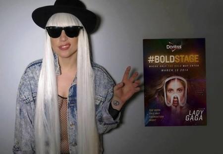 Mira que he visto cosas, pero que te poten en mitad de un concierto como a Lady Gaga... eso es nuevo