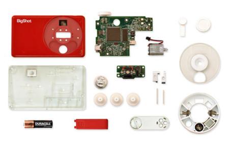 Bigshot nos permite montar nuestra propia cámara digital