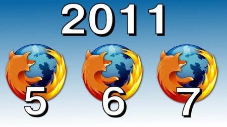 Mozilla quiere llegar hasta Firefox 7 durante el 2011