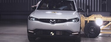 Mazda MX-30 obtiene 5 estrellas en las pruebas Euro NCAP
