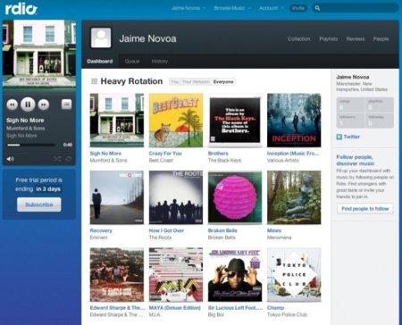 Probamos Rdio, el nuevo servicio de streaming de música de los creadores de Skype