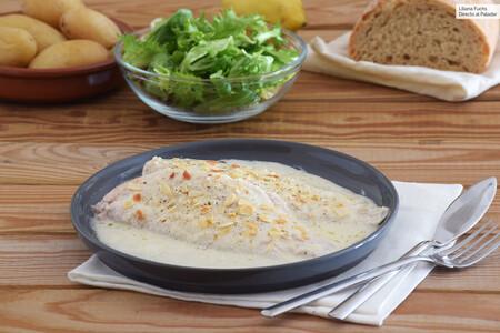 Lenguado En Salsa De Limon Queso Parmesano Y Almendras