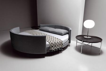 Scoop bed: un sofá cama particular
