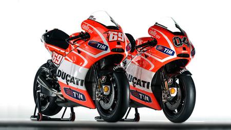 Ducati Desmosedici GP13, los datos técnicos