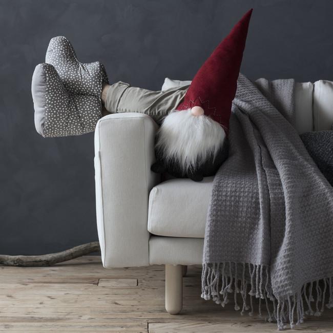 Ikea Coleccion Navidad 2017 Ph146492 Vinter Maanta Lana Zapatillas Adorno Papa Noel Lowres