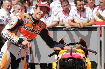"Marc Márquez quiere ""catar"" un monoplaza de Fórmula 1"