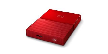 Hoy en Amazon, tienes 3 TB portables con el WD My Passport en color rojo, por sólo 99,99 euros