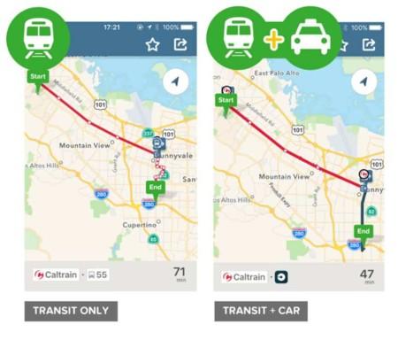 Citymapper ahora combina rutas de transporte público y servicios especiales en su plataforma