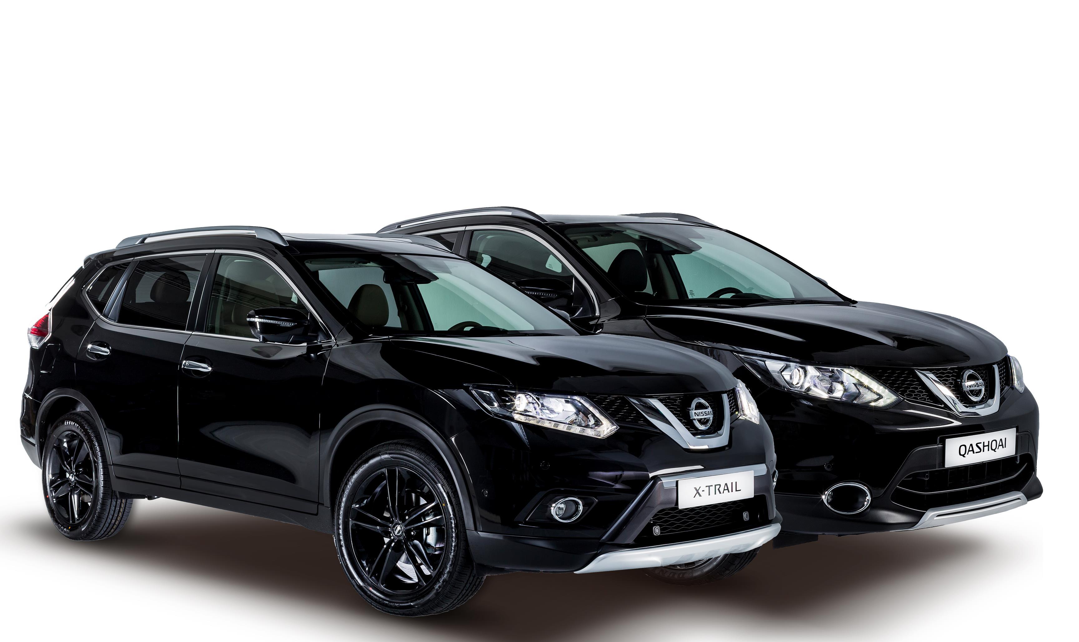 Nissan Qashqai y X-Trail Black Edition. ¿Todo al negro?