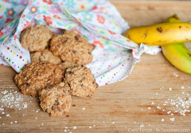 cookies avena y plátano niños