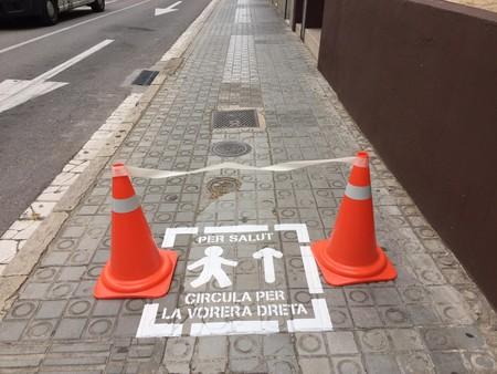 Pictograma Senales Distancia Seguridad