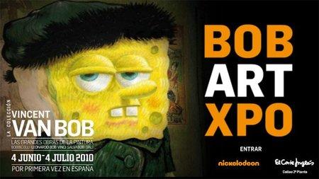 Bob Art Xpo, exposición sobre Bob Esponja en Madrid