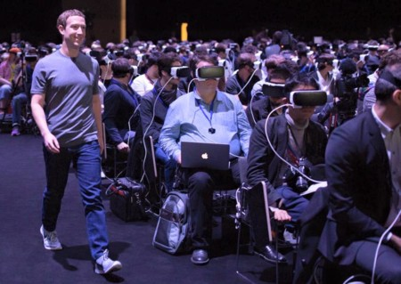 Realidad Virtual Mark Zuckerberg