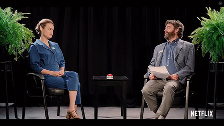 Between Two Ferns The Movie Con Brie Larson En Netflix