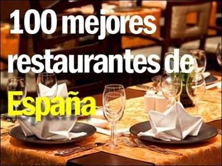 Lista de los 100 mejores restaurantes de España (+1) presentada en Madrid Fusión