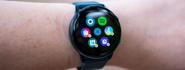 El reloj inteligente Samsung Galaxy Watch Active baja de precio y alcanza su mínimo histórico en Amazon: 149,90 euros