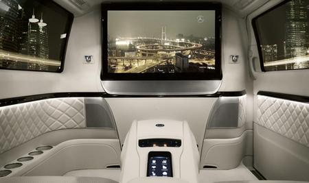 Mercedes-Benz Viano Vision Diamond Concept, a todo trapo
