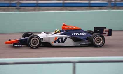 Servià debuta este fin de semana en la IndyCar