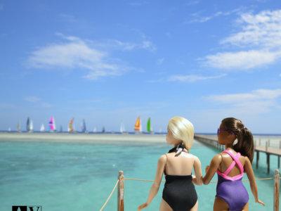 Barbie estrena cuerpo y nos enseña sus curvas en pleno verano