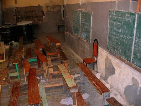 Una escuela en Haití