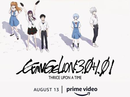 'Evangelion 3.0+1.0', la última película del Rebuild, se estrenará en México el 13 de agosto en exclusiva por Amazon Prime Video