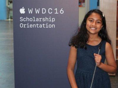 Vive en Australia la desarrolladora de aplicaciones más joven de Apple: se llama Anvitha y tiene nueve años