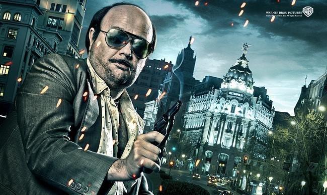 Imagen con el cartel de 'Torrente 4'