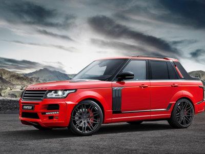 ¿A que convierto un Range Rover en un pick-up deportivo?