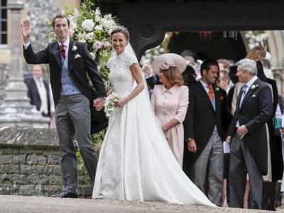 Pippa Middleton ya se ha casado y lo sabemos todo