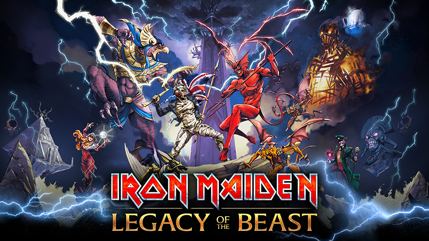 Iron Maiden: Legacy of the Beast, ya disponible en Android su brutal juego  RPG