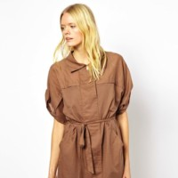 vestido safari de see by chloe