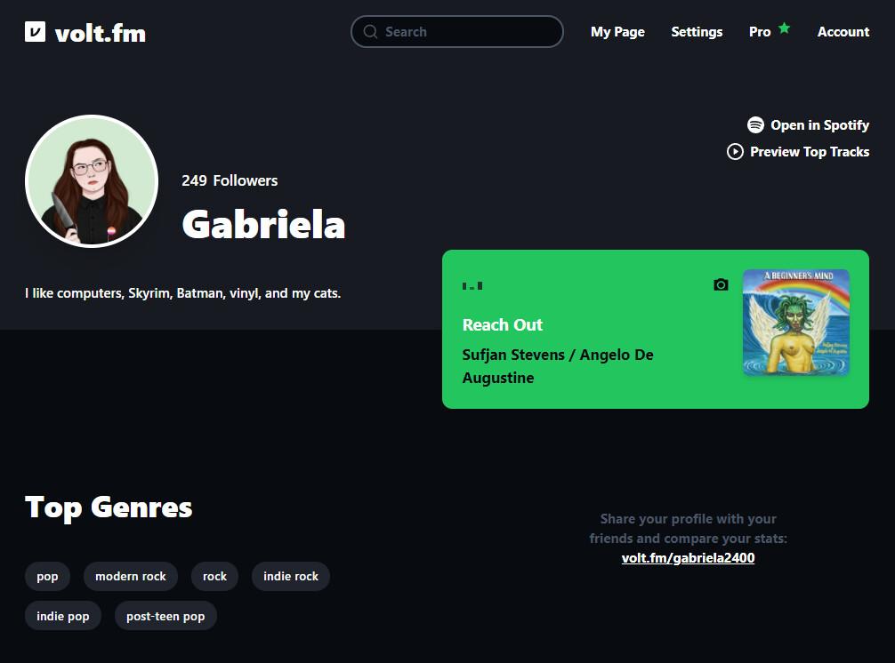 Un Spotify Wrapped para todos los días del año: en esta web puedes crear un perfil completo con todas tus estadísticas musicales