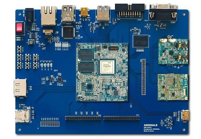 Samsung Exynos 5 motherboard