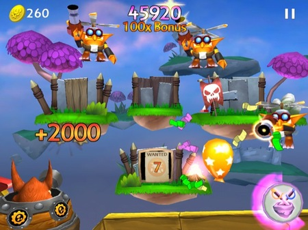 Skylanders Cloud Patrol está disponible para iPhone, iPad y iPod touch