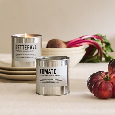 De tomate, orégano o remolacha: así son las velas aromáticas más originales que ha lanzado Zara Home