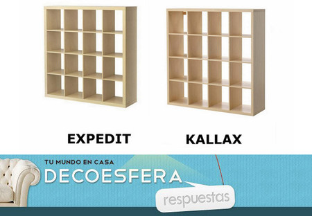 ¿Qué os parece la sustitución de la estantería Expedit de Ikea? La pregunta de la semana