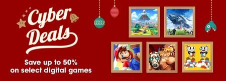 Juegos de Nintendo en oferta por Black Friday y Cyber Monday