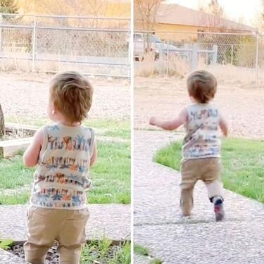 La tierna reacción de un niño pequeño esperando a papá en casa que nos ha robado el corazón