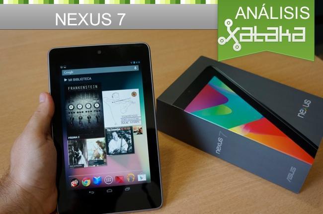 Nexus 7 análisis en Xataka