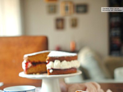 La auténtica receta del tradicional Victoria sponge cake ya está aquí. ¿Quieres conocerla?